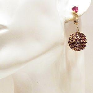 Les Bernard Jewelry - Vintage Les Bernard Clamper Bracelet Earrings Set